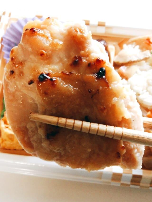 鶏肉西京焼き風