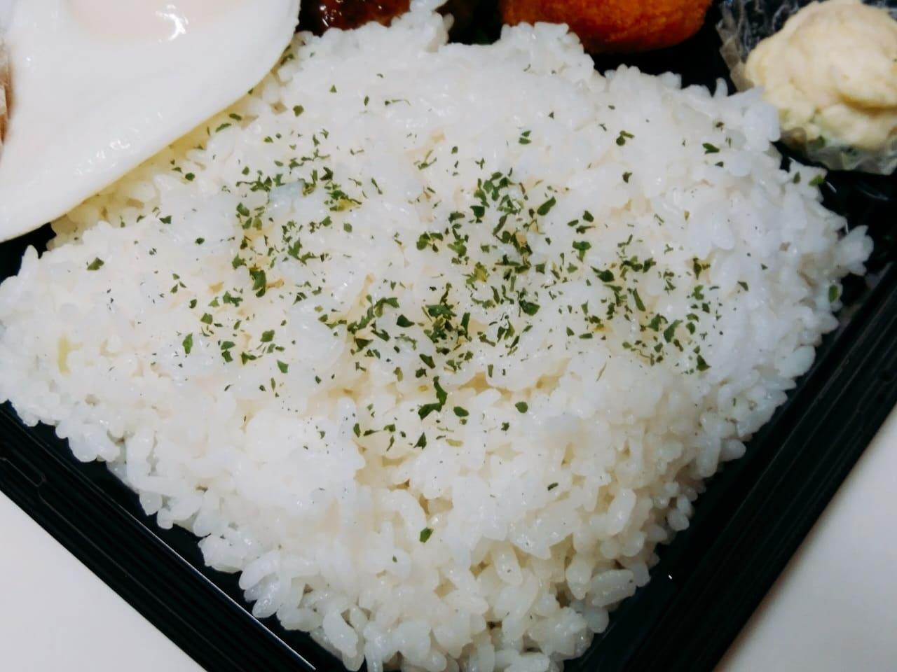 白飯の大盛
