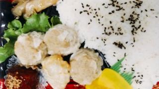 四川焼売の中華弁当