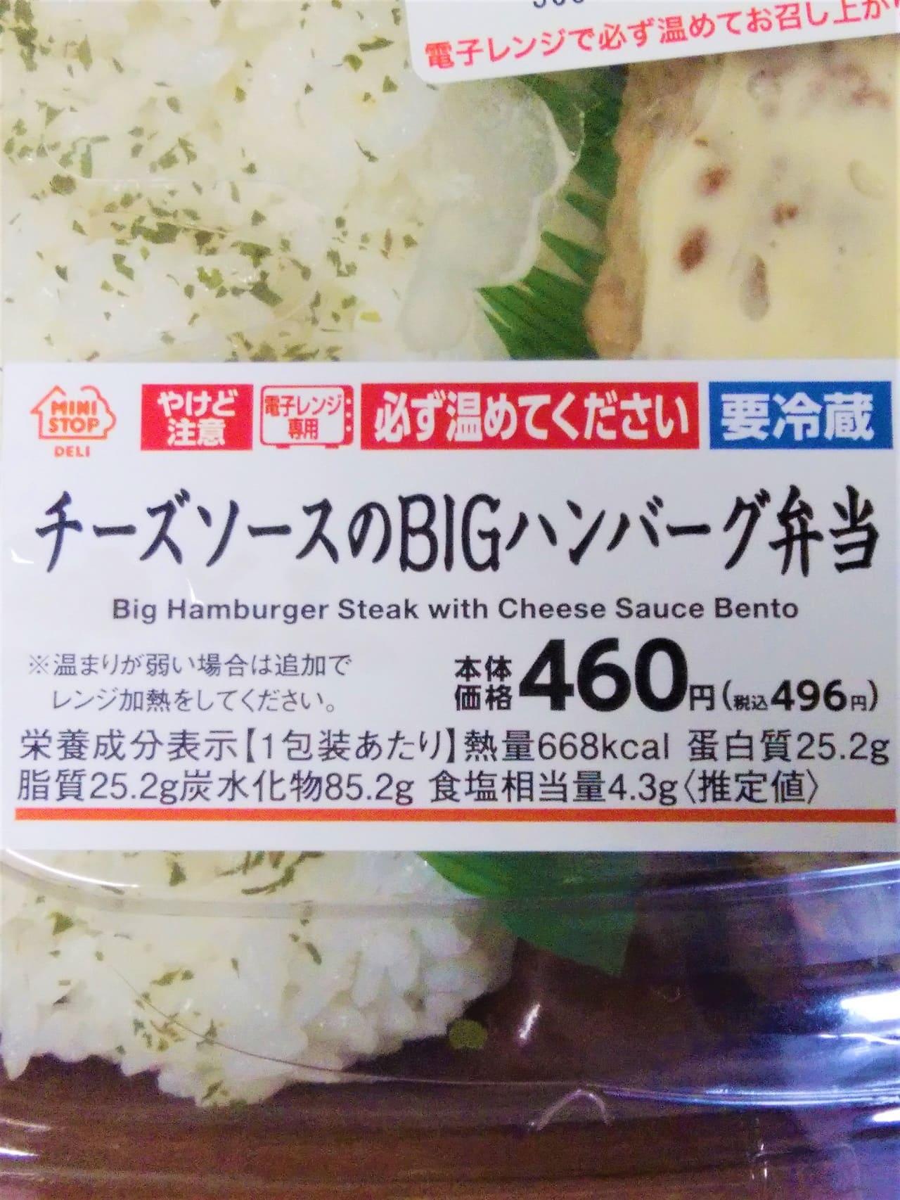 ハンバーグ弁当パッケージ