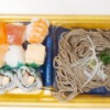 寿司とそばのセット