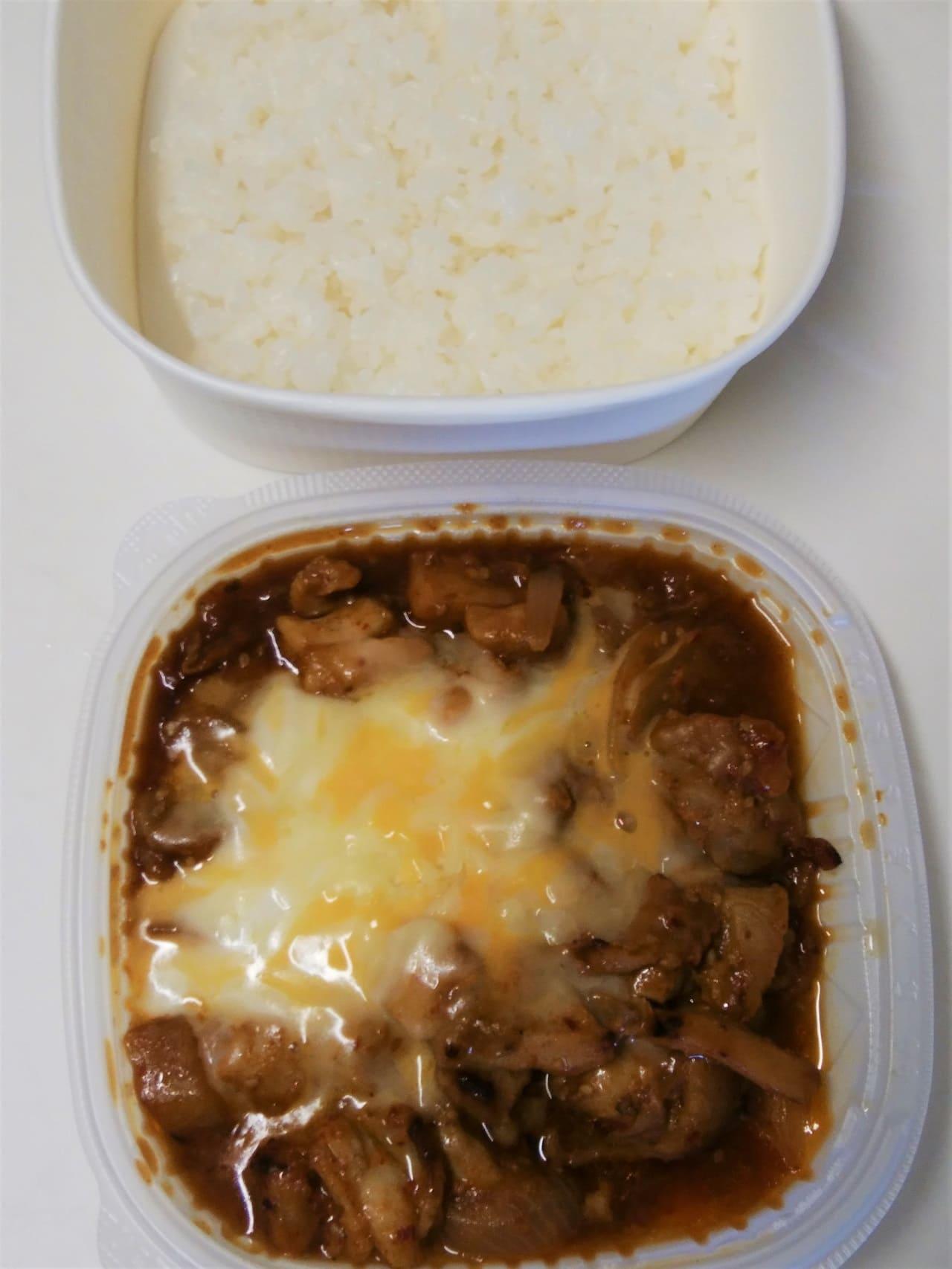 タッカルビと白飯